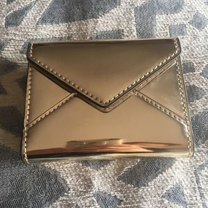 Rebecca Minkoff Gold Envelope Wallet